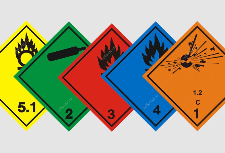 Информационные табло и маркировочные знаки